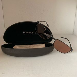 Serengeti sunglasses with case